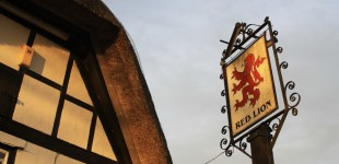 Pub Sign, Avebury, Britain